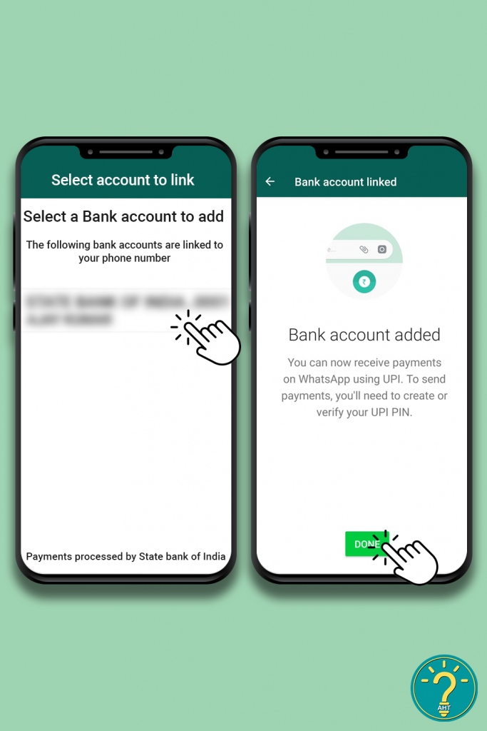 How To Activate WhatsApp Payment? Step 10- AHT