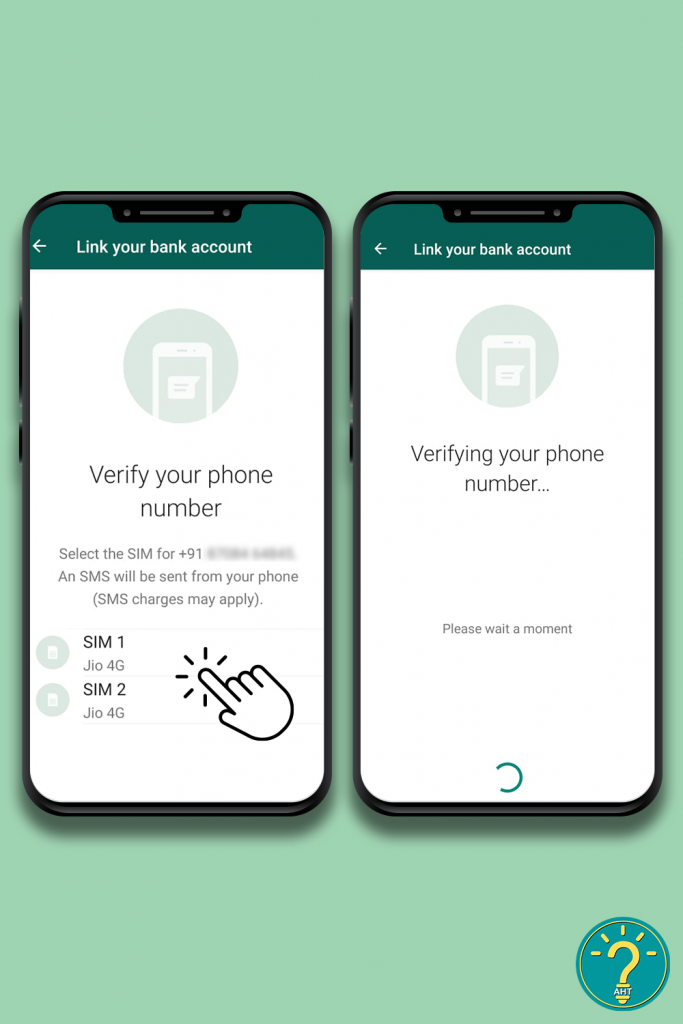 How To Activate WhatsApp Payment? Step 9- AHT