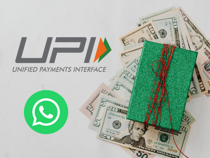 How to transfer money from whatsapp?