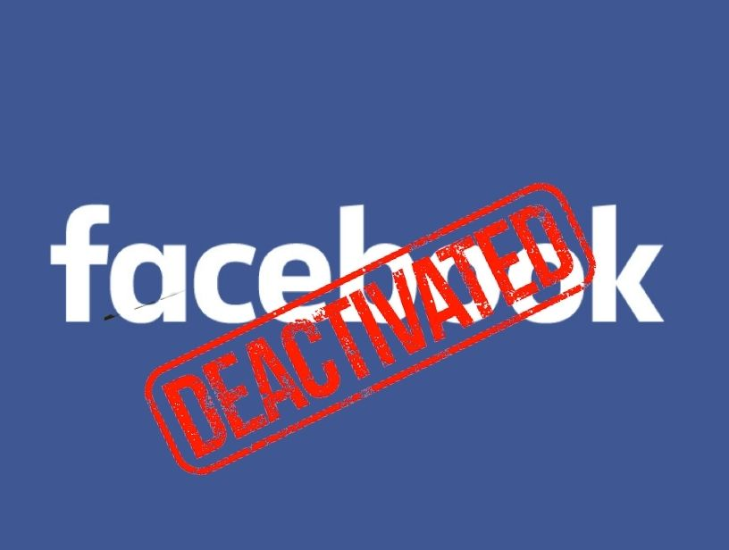 How to deactivate facebook?